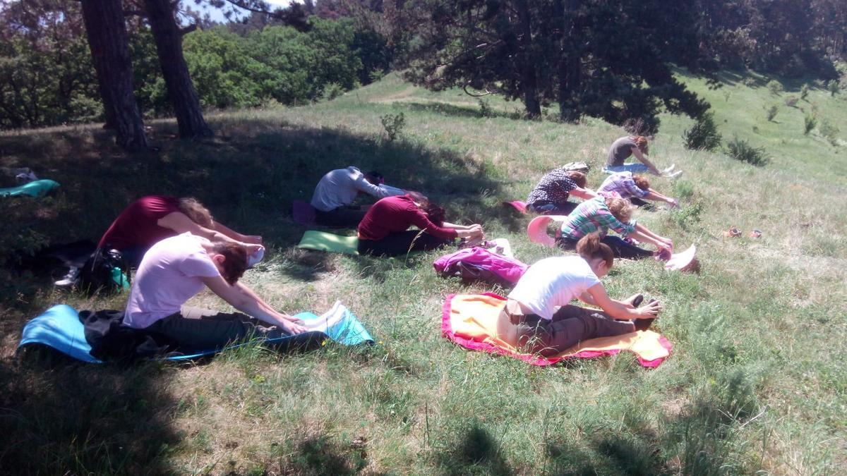 yoga in natura asana